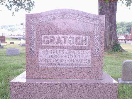 GRATSCH, ANNA - Hamilton County, Ohio | ANNA GRATSCH - Ohio Gravestone Photos