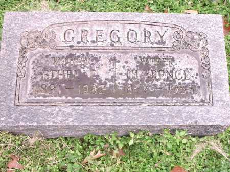 GREGORY, CLARENCE - Hamilton County, Ohio | CLARENCE GREGORY - Ohio Gravestone Photos