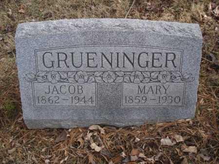 GRUENINGER, MARY - Hamilton County, Ohio   MARY GRUENINGER - Ohio Gravestone Photos