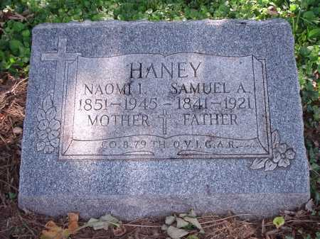HANEY, SAMUEL A. - Hamilton County, Ohio | SAMUEL A. HANEY - Ohio Gravestone Photos