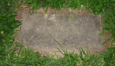 HEALION, WANDA - Hamilton County, Ohio | WANDA HEALION - Ohio Gravestone Photos