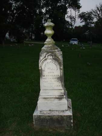 HILL, PHILIP - Hamilton County, Ohio | PHILIP HILL - Ohio Gravestone Photos