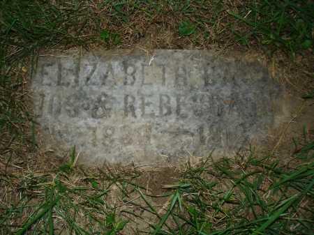 HINE, ELIZABETH - Hamilton County, Ohio | ELIZABETH HINE - Ohio Gravestone Photos
