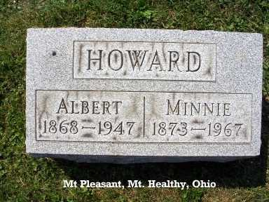 MOORE HOWARD, MINNIE - Hamilton County, Ohio | MINNIE MOORE HOWARD - Ohio Gravestone Photos