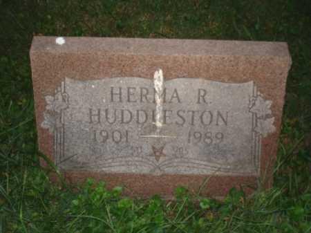HUDDLESTON, HERMA R. - Hamilton County, Ohio | HERMA R. HUDDLESTON - Ohio Gravestone Photos