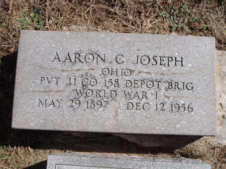 JOSEPH, AARON C. - Hamilton County, Ohio   AARON C. JOSEPH - Ohio Gravestone Photos