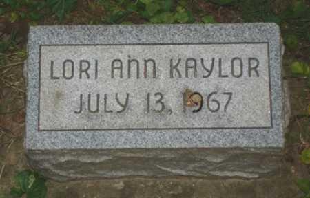 KAYLOR, LORI - Hamilton County, Ohio | LORI KAYLOR - Ohio Gravestone Photos