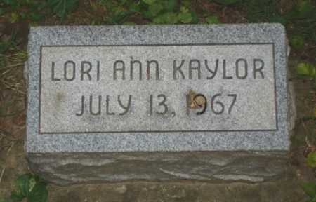 KAYLOR, LORI - Hamilton County, Ohio | LORI KAYLOR - Ohio Gravestone Photos