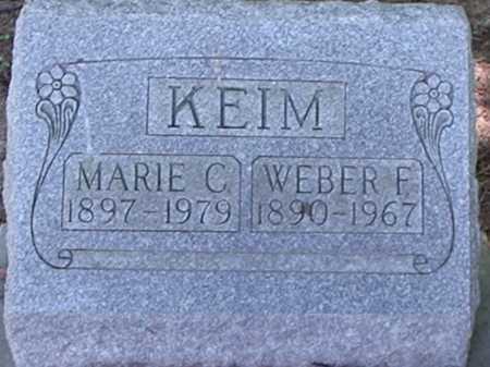 KEIM, MARIE C. - Hamilton County, Ohio | MARIE C. KEIM - Ohio Gravestone Photos