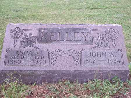 DUFFIELD KELLEY, ANNA R. - Hamilton County, Ohio | ANNA R. DUFFIELD KELLEY - Ohio Gravestone Photos