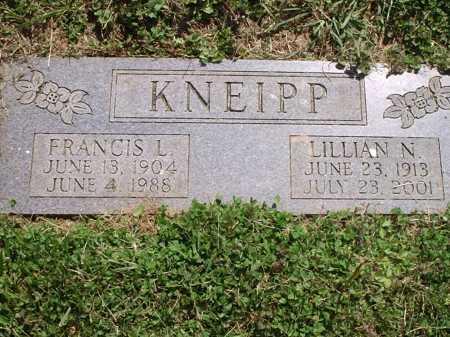 KNEIPP, LILLIAN N. - Hamilton County, Ohio | LILLIAN N. KNEIPP - Ohio Gravestone Photos