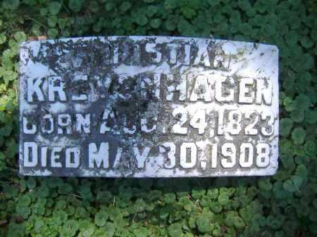 KREYENHAGEN, CHRISTIAN - Hamilton County, Ohio   CHRISTIAN KREYENHAGEN - Ohio Gravestone Photos