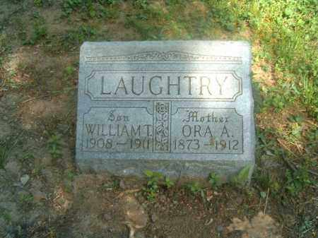LAUGHTRY, ORA   A - Hamilton County, Ohio   ORA   A LAUGHTRY - Ohio Gravestone Photos