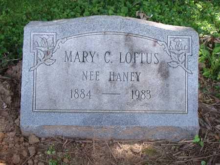 HANEY LOFTUS, MARY C. - Hamilton County, Ohio | MARY C. HANEY LOFTUS - Ohio Gravestone Photos