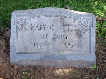 LOFTUS, MARY C. - Hamilton County, Ohio | MARY C. LOFTUS - Ohio Gravestone Photos