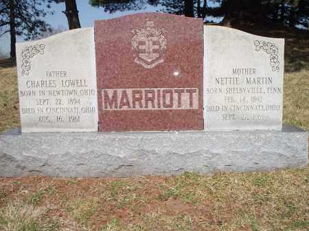 MARTIN MARRIOTT, NETTIE - Hamilton County, Ohio | NETTIE MARTIN MARRIOTT - Ohio Gravestone Photos