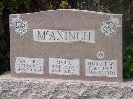 MCANINCH, HUBERT - Hamilton County, Ohio | HUBERT MCANINCH - Ohio Gravestone Photos