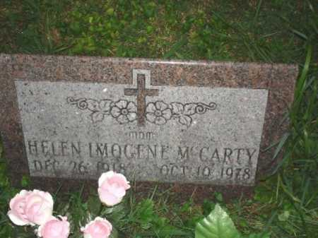 MC CARTY, HELEN IMOGENE - Hamilton County, Ohio   HELEN IMOGENE MC CARTY - Ohio Gravestone Photos