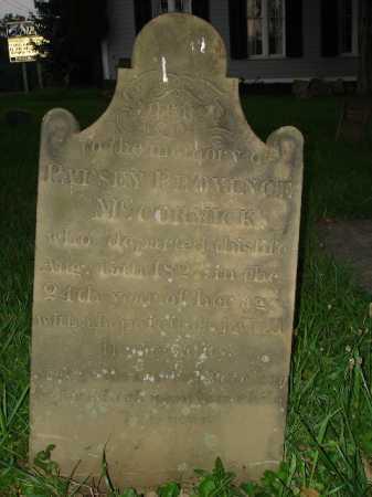 PROVINCE MCCORMICK, PATSEY - Hamilton County, Ohio | PATSEY PROVINCE MCCORMICK - Ohio Gravestone Photos