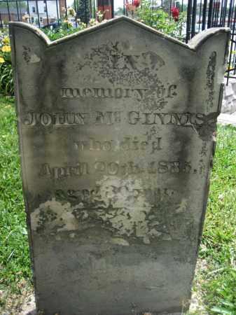 MCGINNIS, JOHN - Hamilton County, Ohio   JOHN MCGINNIS - Ohio Gravestone Photos