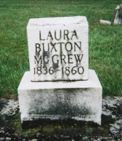 BUXTON MCGREW, LAURA J. - Hamilton County, Ohio | LAURA J. BUXTON MCGREW - Ohio Gravestone Photos