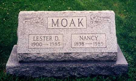 MOAK, NANCY - Hamilton County, Ohio | NANCY MOAK - Ohio Gravestone Photos