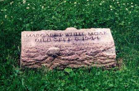 WHITE MOAK, MARGARET - Hamilton County, Ohio | MARGARET WHITE MOAK - Ohio Gravestone Photos