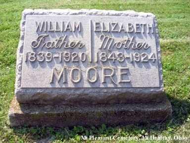 GARDNER MOORE, ELIZABETH - Hamilton County, Ohio | ELIZABETH GARDNER MOORE - Ohio Gravestone Photos