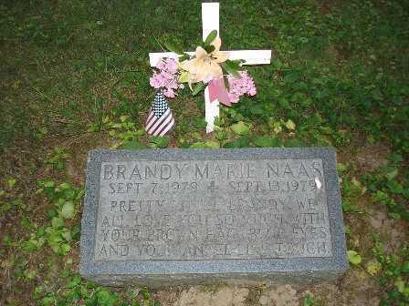 NAAS, BRANDY MARIE - Hamilton County, Ohio   BRANDY MARIE NAAS - Ohio Gravestone Photos
