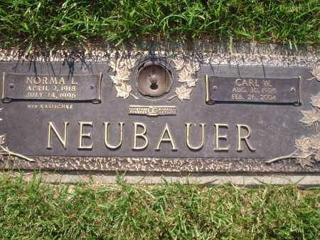 NEUBAUER, CARL W. - Hamilton County, Ohio | CARL W. NEUBAUER - Ohio Gravestone Photos