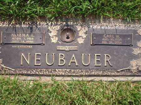 NEUBAUER, CARL W. - Hamilton County, Ohio | CARL W. NEUBAUER - Ohio Gravestone Photos
