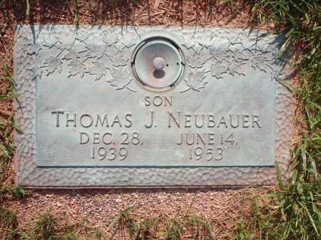 NEUBAUER, THOMAS J. - Hamilton County, Ohio | THOMAS J. NEUBAUER - Ohio Gravestone Photos