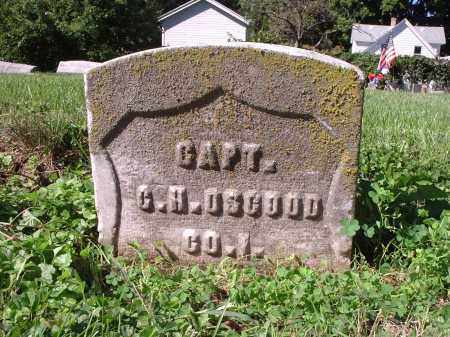 OSGOOD, G.H. - Hamilton County, Ohio   G.H. OSGOOD - Ohio Gravestone Photos