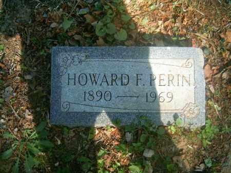PERIN, HOWARD    F - Hamilton County, Ohio   HOWARD    F PERIN - Ohio Gravestone Photos