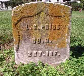 PRICE, L.G. - Hamilton County, Ohio | L.G. PRICE - Ohio Gravestone Photos