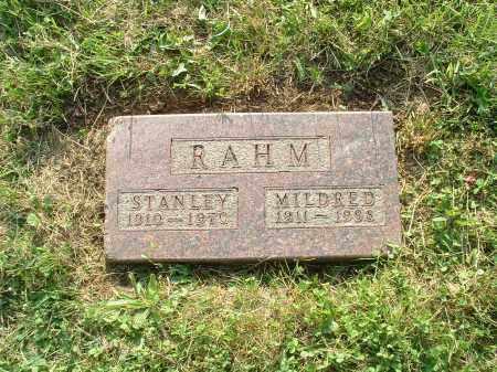 RAHM, MILDRED FRANCIS - Hamilton County, Ohio | MILDRED FRANCIS RAHM - Ohio Gravestone Photos
