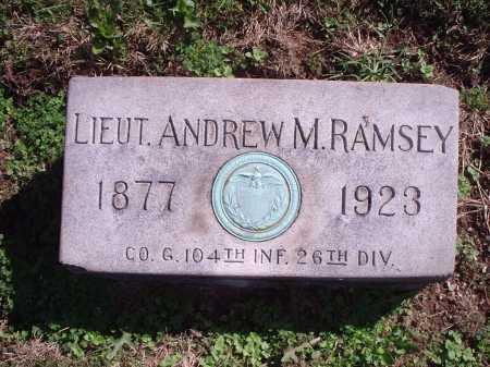 RAMSEY, ANDREW M. - Hamilton County, Ohio | ANDREW M. RAMSEY - Ohio Gravestone Photos