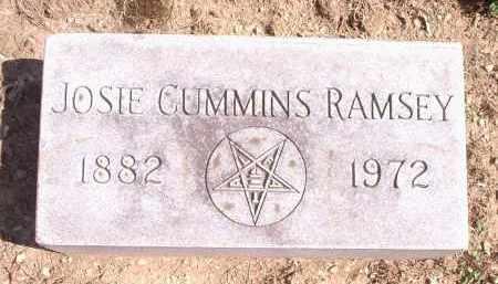 RAMSEY, JOSIE - Hamilton County, Ohio | JOSIE RAMSEY - Ohio Gravestone Photos