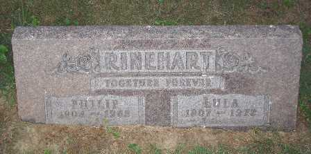 RHINEHART, LULA - Hamilton County, Ohio | LULA RHINEHART - Ohio Gravestone Photos