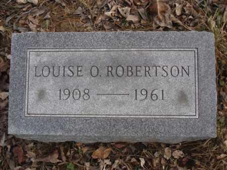 ROBERTSON, LOUISE O. - Hamilton County, Ohio   LOUISE O. ROBERTSON - Ohio Gravestone Photos