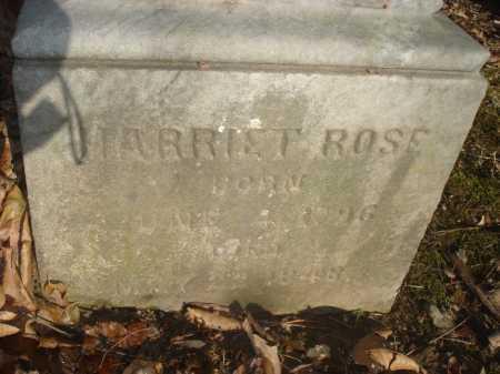 ROSE, HARRIETT - Hamilton County, Ohio | HARRIETT ROSE - Ohio Gravestone Photos