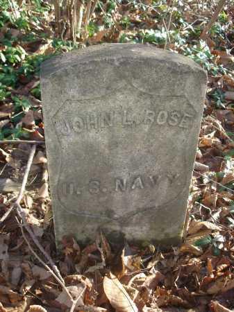 ROSE, JOHN - Hamilton County, Ohio | JOHN ROSE - Ohio Gravestone Photos