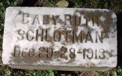 SCHLOTMAN, RUTH - Hamilton County, Ohio | RUTH SCHLOTMAN - Ohio Gravestone Photos