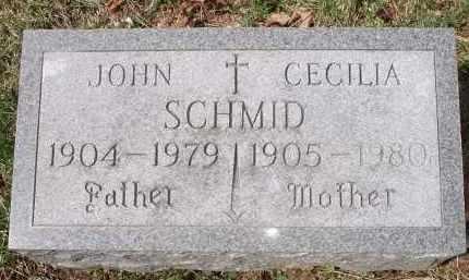 SCHMID, JOHN - Hamilton County, Ohio | JOHN SCHMID - Ohio Gravestone Photos