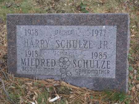 SCHULZE JR., HARRY - Hamilton County, Ohio | HARRY SCHULZE JR. - Ohio Gravestone Photos
