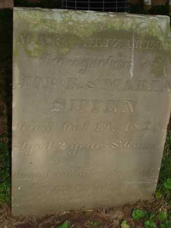 SHINN, MARY - Hamilton County, Ohio | MARY SHINN - Ohio Gravestone Photos