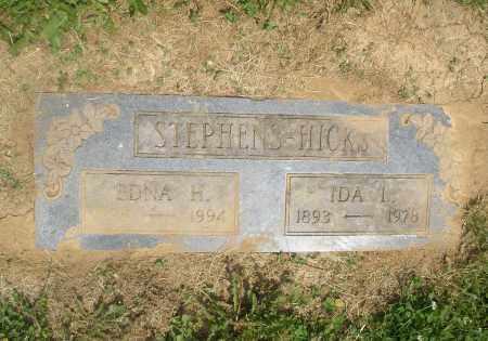 HICKS STEPHENS, EDNA DOROTHY - Hamilton County, Ohio | EDNA DOROTHY HICKS STEPHENS - Ohio Gravestone Photos