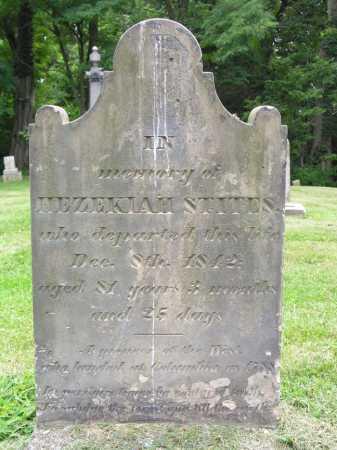 STITES, HEZEKIAH - Hamilton County, Ohio   HEZEKIAH STITES - Ohio Gravestone Photos