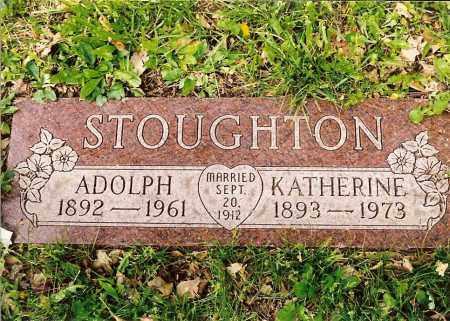 KLEIN STOUGHTON, KATHERINE ANNA ELIZABETH - Hamilton County, Ohio | KATHERINE ANNA ELIZABETH KLEIN STOUGHTON - Ohio Gravestone Photos