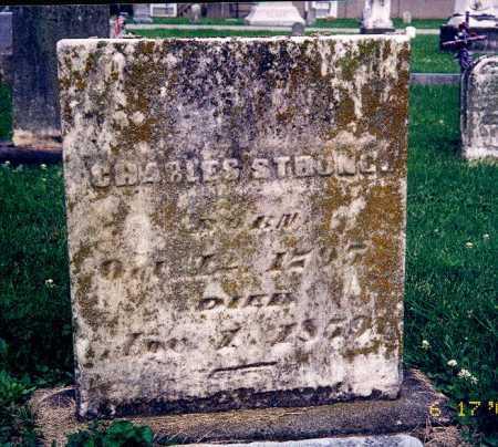 STRONG, CHARLES - Hamilton County, Ohio | CHARLES STRONG - Ohio Gravestone Photos